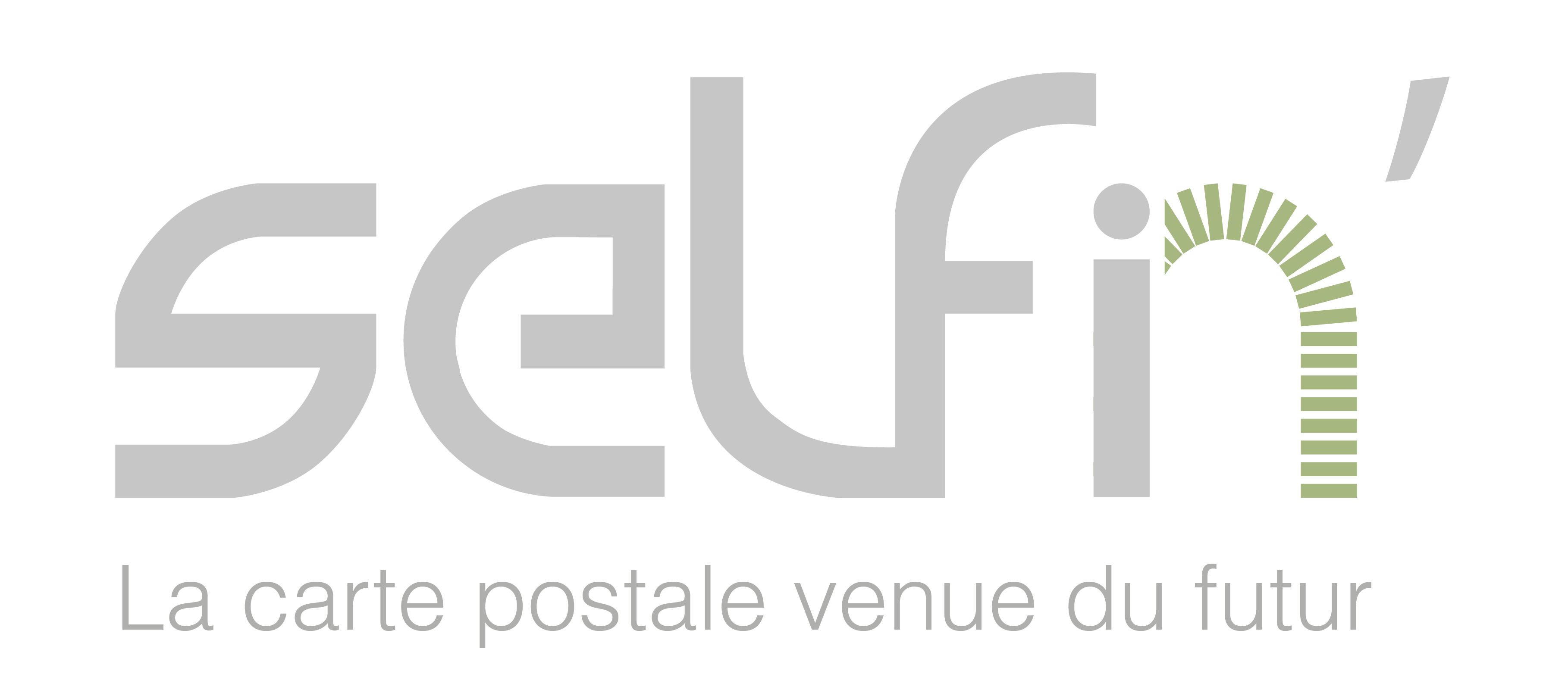 self'in selfie géant logo